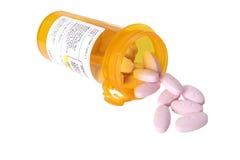 Pillole di allergia Fotografie Stock