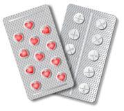 Pillole di amore Fotografie Stock