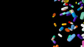 Pillole di caduta video d archivio