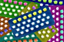 Pillole di contraccettivo orale. Fotografia Stock Libera da Diritti
