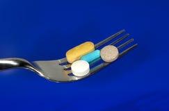 Pillole di dieta fotografia stock libera da diritti