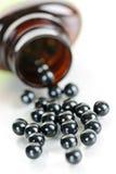 Pillole di erbe cinesi della medicina di brevetto Fotografie Stock Libere da Diritti