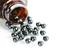 Pillole di erbe cinesi della medicina di brevetto Fotografia Stock