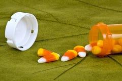 Pillole di Halloween. fotografie stock
