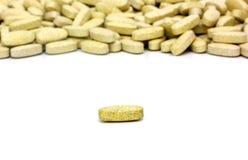 Pillole di Multivitamin Fotografie Stock Libere da Diritti