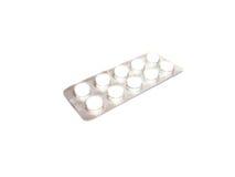 Pillole imballate Fotografia Stock