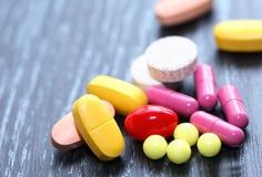 Pillole impostate Fotografia Stock Libera da Diritti