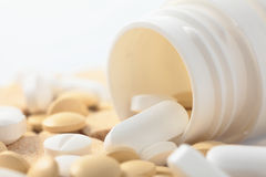 Pillole mediche Fotografie Stock