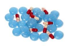 Pillole mediche Fotografia Stock