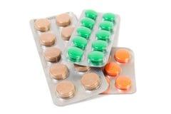 Pillole mediche Immagini Stock