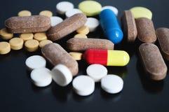 Pillole mediche differenti Immagine Stock Libera da Diritti
