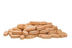 Pillole organiche Fotografie Stock