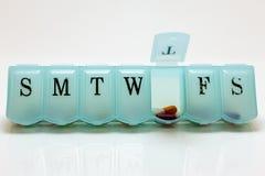 Pillole per giovedì Immagini Stock Libere da Diritti