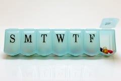 Pillole per sabato Fotografia Stock
