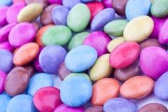 Pillole rivestite dello zucchero Fotografia Stock