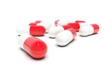 pillole Rosso-bianche royalty illustrazione gratis