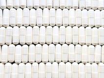 Pillole in una riga Immagine Stock