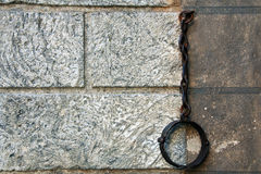 Pillory del ferro Fotografie Stock Libere da Diritti