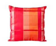 pillow красная нашивка Стоковые Фотографии RF