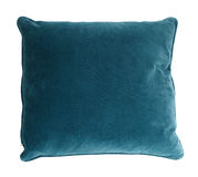 Pillow. Decorative pillow isolated on white. Clipping path Stock Photos