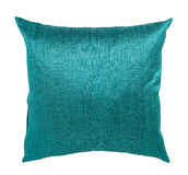 Pillow. Decorative pillow isolated on white. Clipping path Stock Image
