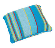 Pillow. Decorative pillow isolated on white. Clipping path Royalty Free Stock Photography