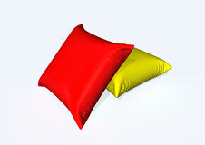Pillow. Illustration of pillow isolated on the white Royalty Free Stock Images