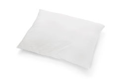 Pillow. Just a simple white pillow isolated on white Royalty Free Stock Photos
