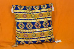 Pillow with Arabic pattern Stock Photography