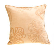 Pillow, bright pillow on background. Stock Images