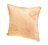Pillow, bright pillow on background. Royalty Free Stock Image