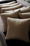 Pillow cushion. A pile of pillow on sofa Royalty Free Stock Photo