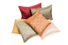 Pillow or cushion heap Stock Photography
