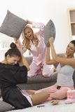 Pillow fight Royalty Free Stock Photography