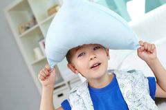 Pillow hat Royalty Free Stock Image