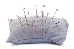 Pillow for needles Stock Image