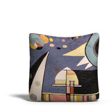 Pillow with retro design print Royalty Free Stock Photo