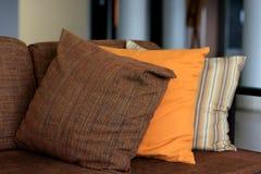Pillow on sofa Stock Image