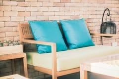 Pillow on sofa Royalty Free Stock Photos