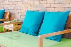 Pillow on sofa Royalty Free Stock Image