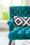 Pillow on sofa decoration interior. In living room Stock Photo