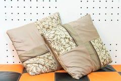 Pillow on sofa decoration Stock Photo