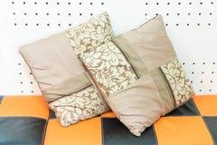 Pillow on sofa decoration Stock Photography