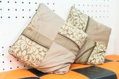 Pillow on sofa decoration Royalty Free Stock Photos