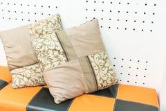 Pillow on sofa decoration Stock Image