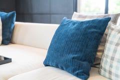 Pillow on sofa decoration interior Stock Image
