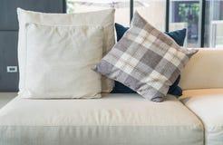 Pillow on sofa decoration interior Royalty Free Stock Image