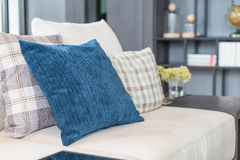 Pillow on sofa decoration interior Stock Images