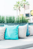 Pillow on sofa Royalty Free Stock Photography