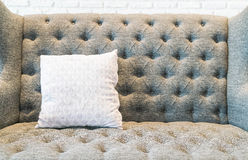 Pillow on sofa decoration in living room. Pillow on sofa decoration interior in living room Stock Photography
